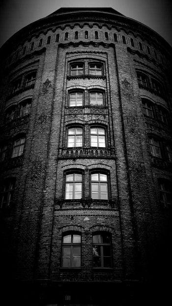 Wasserturm Berlin Berliner Ansichten Brickporn Old Buildings Architecture_bw Darkness And Light Light And Shadow Bw_collection Monochrome