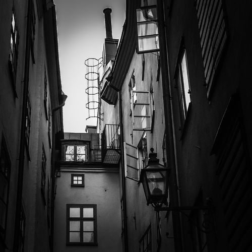 Early morning MADE IN SWEDEN Architectural Detail Shootermag EyeEm Bnw