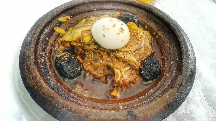 Ready-to-eat Lamb Tajine Tastyfood Traditional Food Egg Prunes Dry Fruits