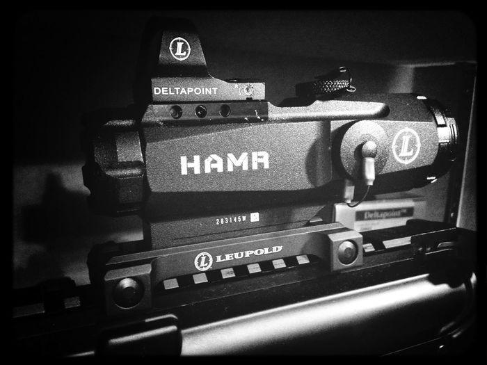 Deltapoint HAMR Firearms Guns Leupold