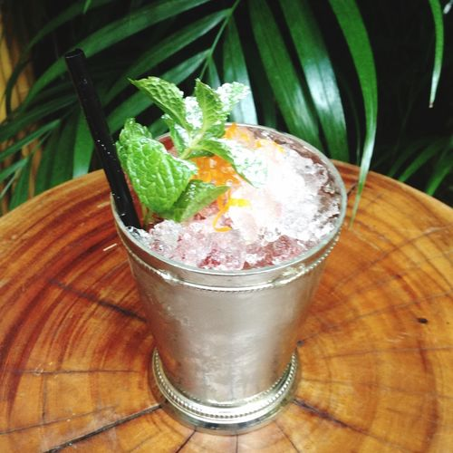 HoniHoniHk New Cocktail New Era Julep made by Austen Check This Out