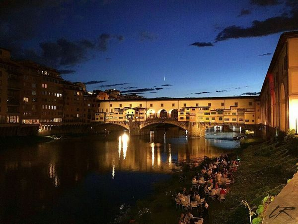 Florence Italy Florence Mexicanarchitecture EyeEm Best Edits Architecture Built Structure Reflection Building Exterior Water Transportation Bridge - Man Made Structure Outdoors Vecchio Vecchio ♥ Bridge View Bridge Over Water Bridges Italy Photos Italy🇮🇹 Reflection Architecture sky Day Real People City People Nature Tree Adult Built Structure Building Exterior Water Transportation Bridge - Man Made Structure Outdoors Large Group Of People