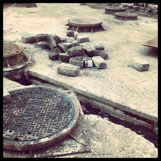 #old #newyorkcity #repairs #street #earth #workinprogress #blue #city #ny #nyc #white #dirt #newyork #cobblestone #brooklyn #construction #fall #dumbo #goodlight #stone solid #light #sand #road #history #layers #bricks #metal #sewer #tracks NYC White Sand Brooklyn Old Bricks City Dirt Light Construction Newyork Tracks Layers Blue Metal DUMBO Repairs Fall Newyorkcity Stone Cobblestone History NY Goodlight Road Workinprogress Street Earth Sewer