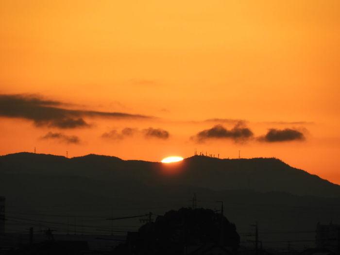 ALBANIA❤️ Alba Albania Albanian Beauty In Nature Mountain Nature No People Orange Color Outdoors Scenics Silhouette Sky Sun Sunset Tranquil Scene Tranquility