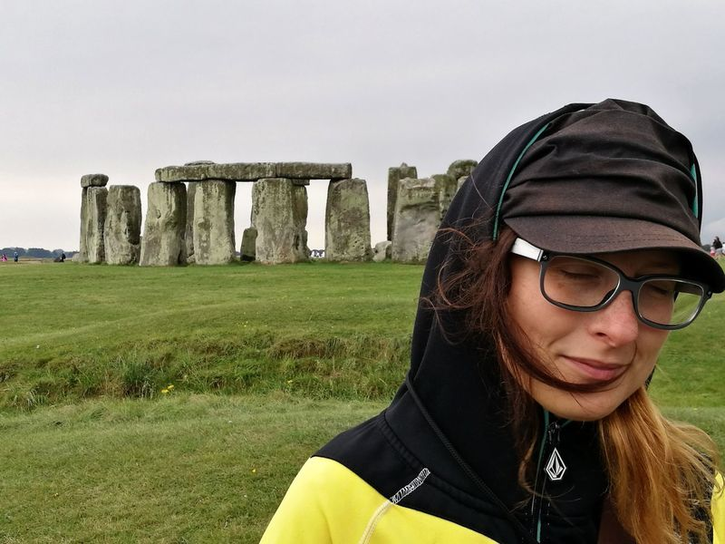 EyeEm Selects Young Women One Woman Only Stonehenge Memorial London Summertrip Portrait