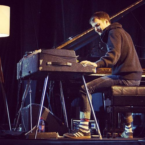 WOW Nilsfrahm blew the roof off at Jazzkaar Merepaviljon yesterday,standing ovations followed!! Thank you!