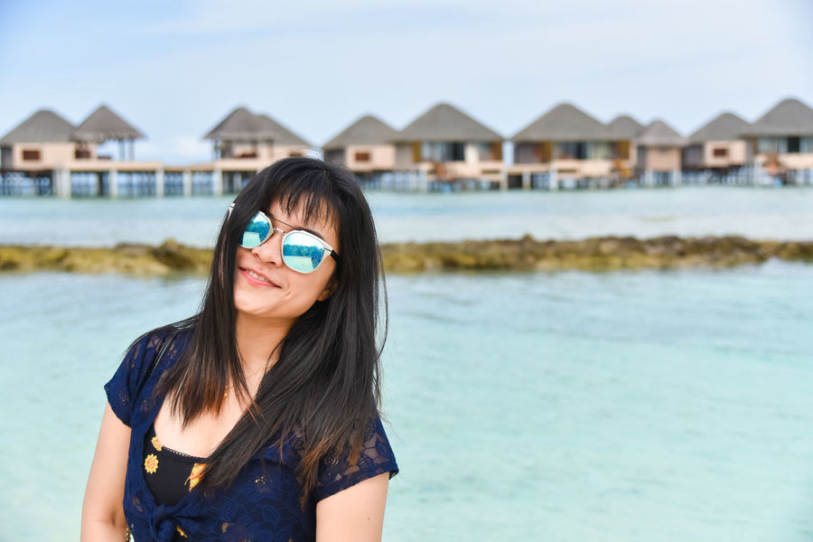 Andaaran Island Beach Beautiful Woman Cute Enjoying Life Freedom Girlfriend Happy Sunday Happy Time Holiday Island Maldives Nature Relaxation Relaxing Sea Sea And Sky Sexsy Girl Smile Summer Summertime Tourism Travel Woman Smile Young Woman