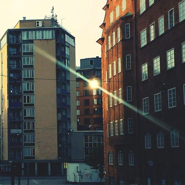 Sun Reflection Street Photography Erstagatan Södermalm Södermalm Stockholm Stockholm Reflected Glory Here Belongs To Me