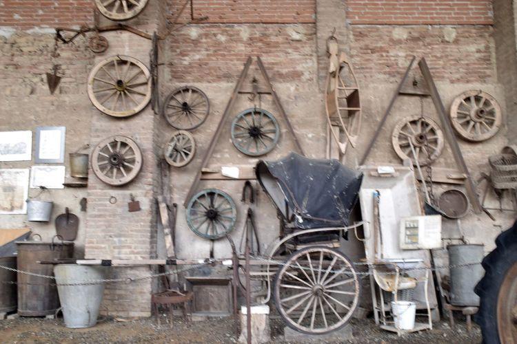 Grazzano Visconti Antique Ruota SecoloXIX Calesse Ricordi Storia