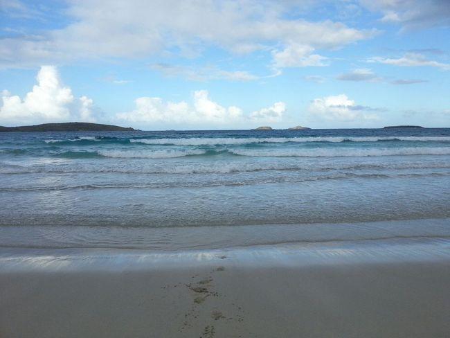 ...Zoni beach... Beach Sky Blue