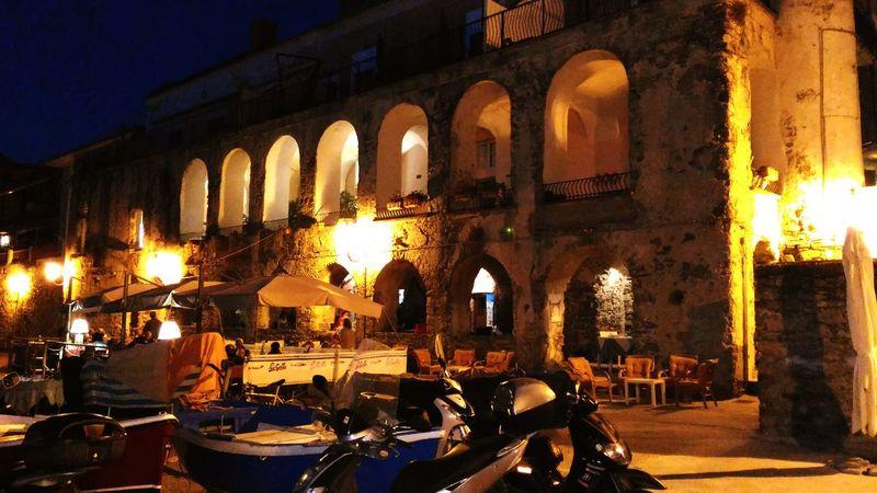 """La location del celebre film """"Benvenuti al Sud"""" con C. Bisio e A. Siani - ristorante Le Gatte MOVIE Location Sud Italy Castellabate Cilento"""