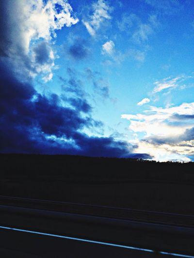 On The Road Clouds And Sky Sky Sky_collection sur l A6 retour du paradis