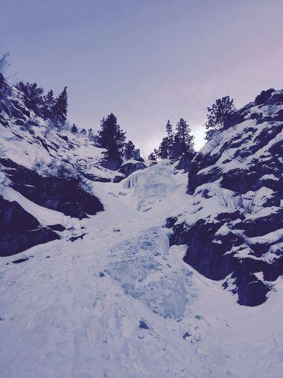 Frozen ❄️ Snow Winter Outdoors Wyoming