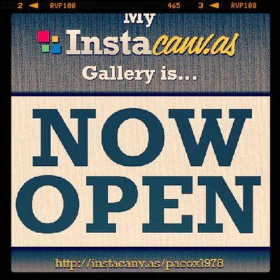 La mia Galleria su Instacanvas è Ora aperta!