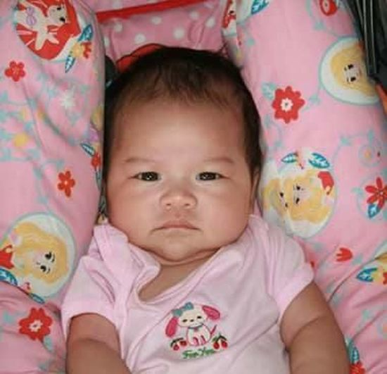 #Babies #babygirl #babyphotography #babywithgreyeyes #greyeyes Child Close-up Innocence Looking At Camera Lying On Back Portrait Young First Eyeem Photo