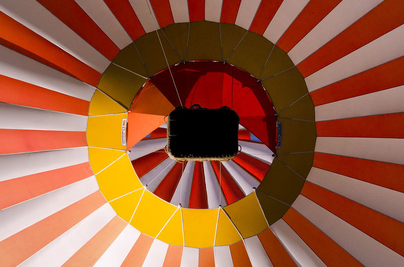 Full frame shot of colorful umbrella