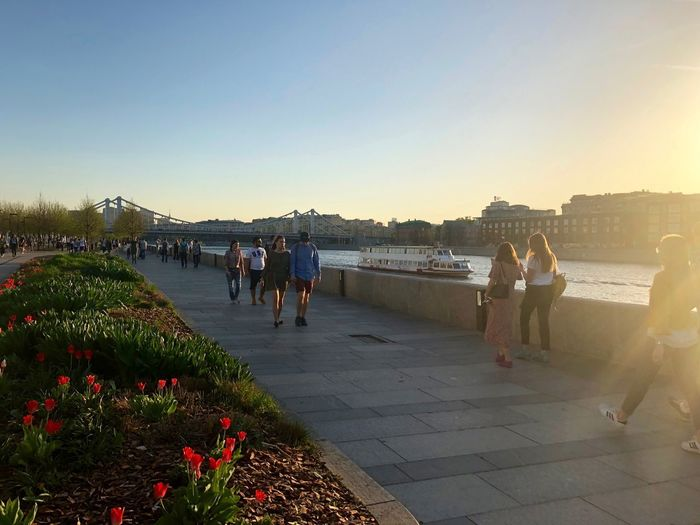 City Life Moscow Moscow Summer Downtown Muzeon Riverside Walking Around Incidental People Lifestyles Moscow Life Moscow Sunset Muzeonpark Nature Outdoors Park Park - Man Made Space Sunset #FREIHEITBERLIN The Street Photographer - 2018 EyeEm Awards The Great Outdoors - 2018 EyeEm Awards