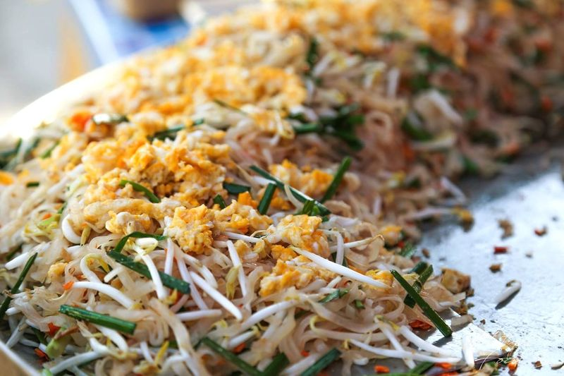 Close-up of meal served in plate