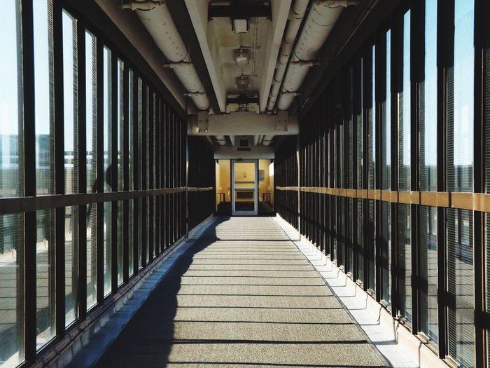 Corridor Of Bridge
