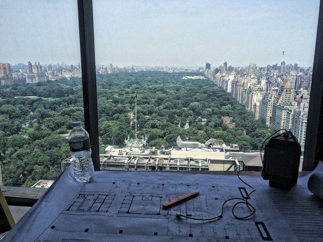 Throughmyeyes At Work Potrait Highrises CentralPark NYC Working Hard Skyline