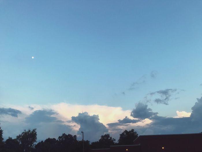 Sky Moon Nature