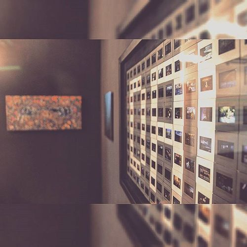 A different angle of our new exhibition. Photooftheday Photography Dada Bugraerol Dairegaleri Daireartgallery Artgallery Modernart Art Differentangle Tiltshift Artkid Work Tophane