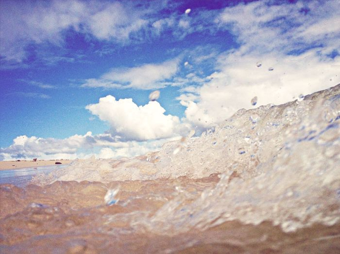 Wave after wave :) Waves Wave Ocean Paradise