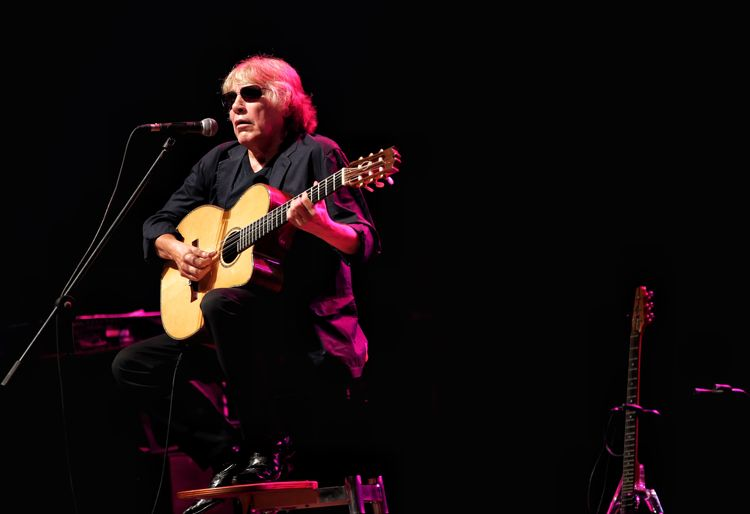 Jose Feliciano Music Arts Culture And Entertainment Musical Instrument Performance Artist Musician Playing Stage - Performance Space Musical Equipment Stage Guitar Performing Arts Event Black Background One Person Popular Music Concert Enjoyment Occupation Event Nightlife Rock Music