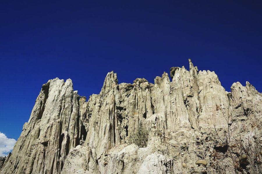 Valle de la Luna (Valley of the Moon), La Paz, Bolivia Blue No People Sky Nature Outdoors Valle De La Luna Sillar Volcanic Rock Volcanic Landscape