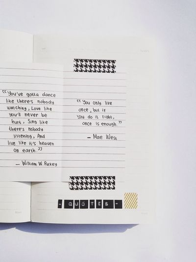 Simplicity Filippa K Asks: What Inspires You? Notebook Quotes