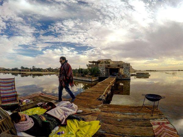 Siwa oasis,Egypt. Sky Water Cloud - Sky Nature SaltLake Mountains Siwa Oasis Egypt Goprohero4 Dramatic Skies