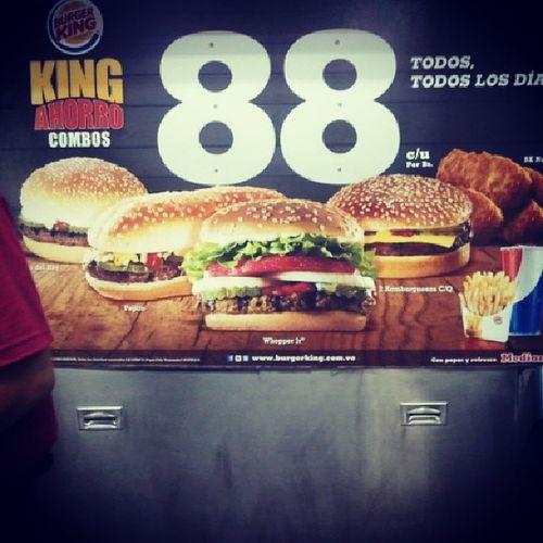 Una parada placentera. Burgerking KingAhorro 88