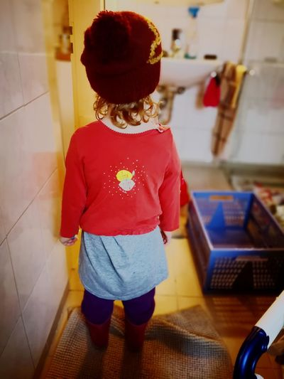 """#0. 1 """"Enough! a (my) girl challenging the ups and downs of an forced relocation."""" Rotkäppchen Pinky Blinky Red Hoodie Silence No Excuses Tho Bad Day Red Sad & Lonely Leftbehind Clothing Freaky Special Emotional Child Full Length Childhood Girls Posing Rose Hip Clothes"""