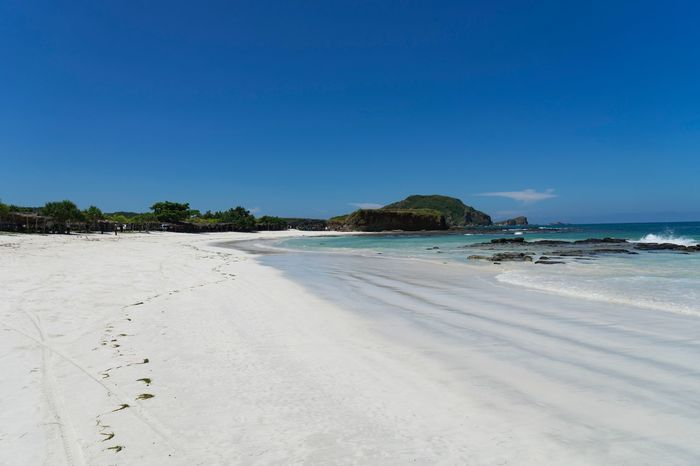 Beautiful beach of Lombok Lombok Beach Beach Sea Sand Nature Scenics Beauty In Nature Tranquil Scene Tranquility Water Blue Clear Sky Copy Space Outdoors Travel Destinations Idyllic Vacations No People Tourism Summer Day