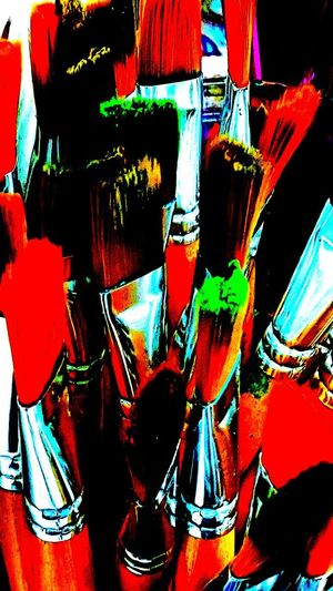 Art Suippli Artists Tool Brush Close-up Day Indoors  Multi Colored No People Old Painting Brush Painters Brush Red Brushe Studio Shot Variation Vbackground Fa
