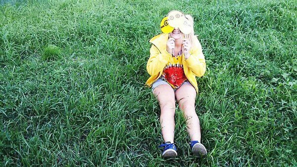 Enjoying Life Faces Of SummerHolidays Russia Ulan-Ude Girl People Streetphoto Hello World Grass