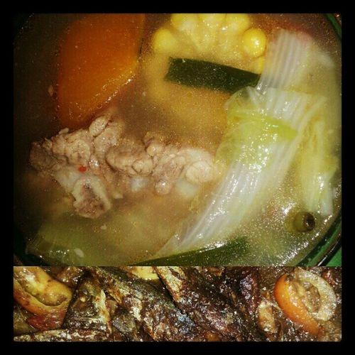 Lunch time! Yum yum yum... Instafood Lutongpinoy Filipinosbest
