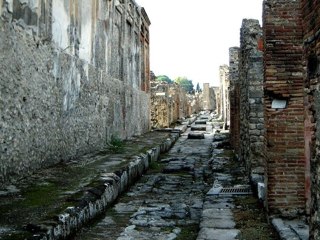 Archeology ArcheologicSite Romans Archeological Site Pompeii Ruins Pompei Scavi Ancient History Ancient Travel The Past Roman Street The Way Forward