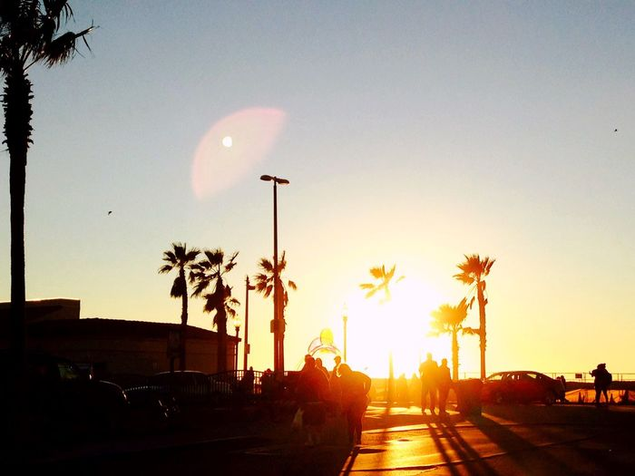 Just another beautiful sunset in a beatiful world. Sunset Sunset Silhouettes Mission Beach San Diego First Eyeem Photo