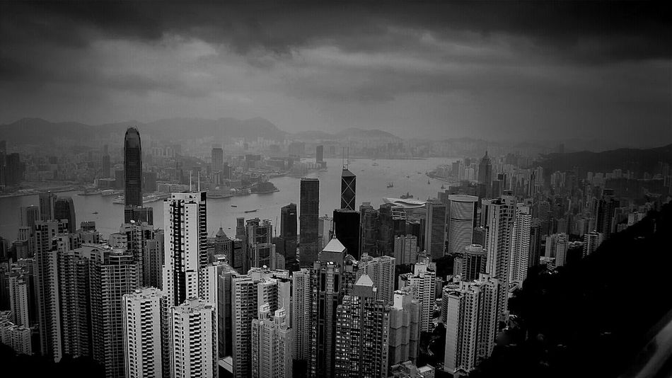 HongKong China Black And White Cityscapes Cytywordwide Cyti  Hi! Arquitecture Hello World Blackandwhitephotography