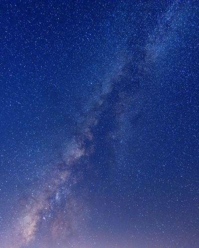 Full frame shot of stars in sky