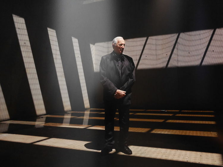 Shadow Soulages Museum Aveyron Rodez Art Museum Artist Art Musee Soulages Rodez Soulages Museum Pierre Soulages
