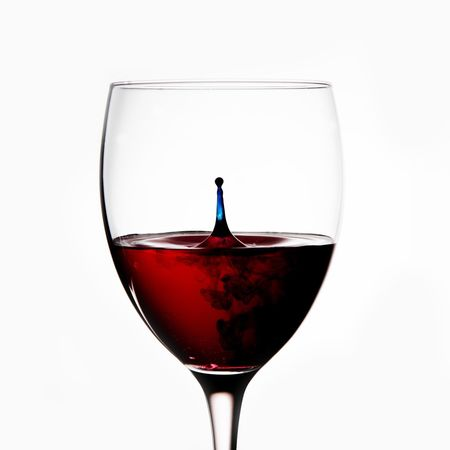 Wine Wine Glass Cliche Droplet Red Blue Studio Stuckathome