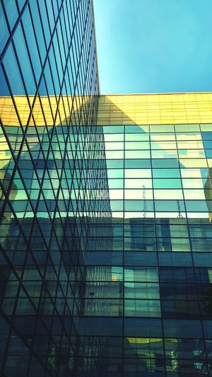 GLASS WALLS 🏢 ✍🏼- We shape our buildings. Thereafter they shape us. Sky Paint The Town Yellow Buildings & Sky Buildingphotography Skyscraper Reflection Glass Building Corporatelife Corporateworld Photography VSCO Vscocam Vscodaily Vscoindia Vsco_hub Vscogoodshoot Igers Igaddict Ig_captures Picoftheday Rsa_photo_of_the_day Photooftheday Myvisualshots Vscogood EyeEmNewHere Featuregram