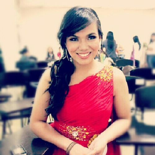 "Hestia :)) MTC MR AND MS 2013 :) ""Gods and Goddesses"" SchoolPageant Event Smile Happy"