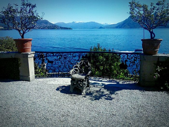 Blue Tree Water Mountain Tranquility Island Italy 🇮🇹 Mountain Range View Lake View Lago Maggiore, Italy Bench