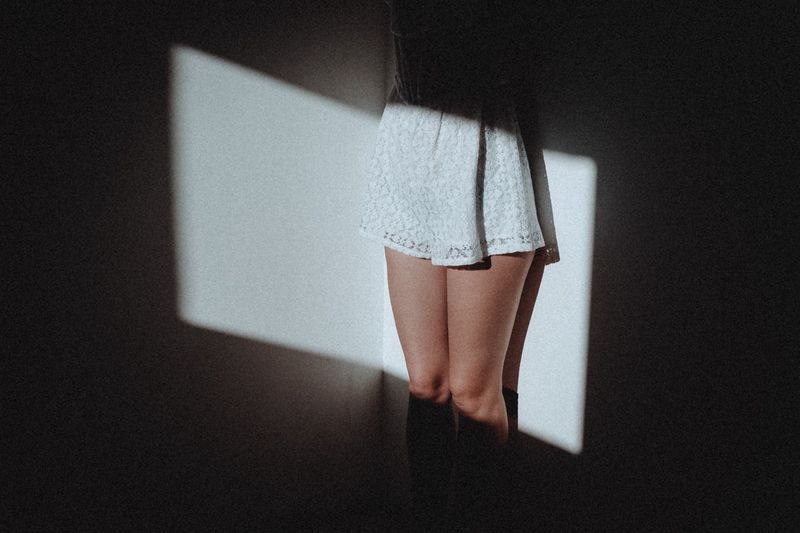 EyeEm Selects Indoors  One Person Home Interior Shadow Real People Human Leg People Light And Shadow Atmosphere Natural Light Atmospheric Mood Composition FujiX100T Model Light Women The Week On EyeEm Creative Space