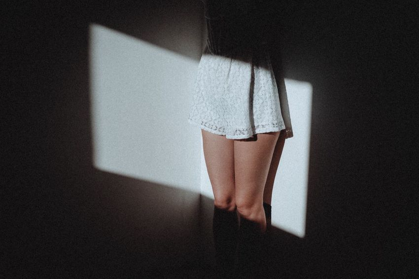 EyeEm Selects Indoors  One Person Home Interior Shadow Real People Human Leg People Light And Shadow Atmosphere Natural Light Atmospheric Mood Composition FujiX100T Model Light Women The Week On EyeEm