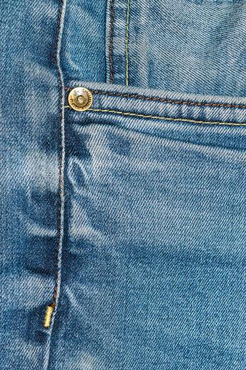 Full frame of jeans pocket