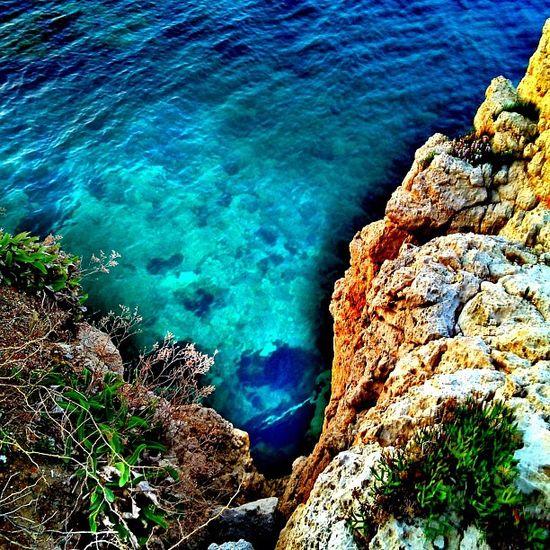 I almost dived.. :) Reflection Sea Blue Greece Ubiquography Mytilini Instalovers_gr Lesvos